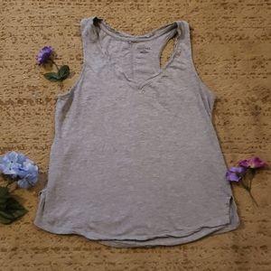 Women's sz M Grey Tank Top